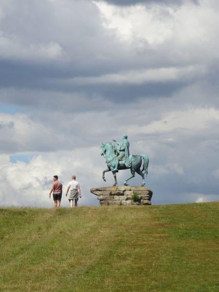George III Statue on Snow Hill
