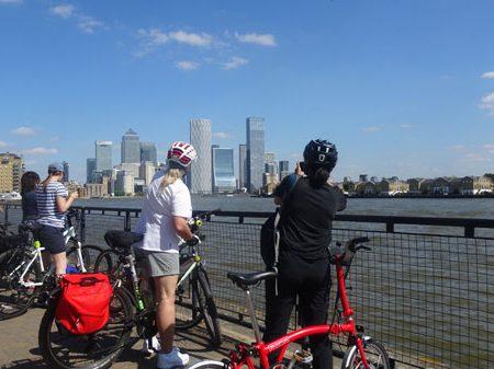 London Riverside By Bike Tour