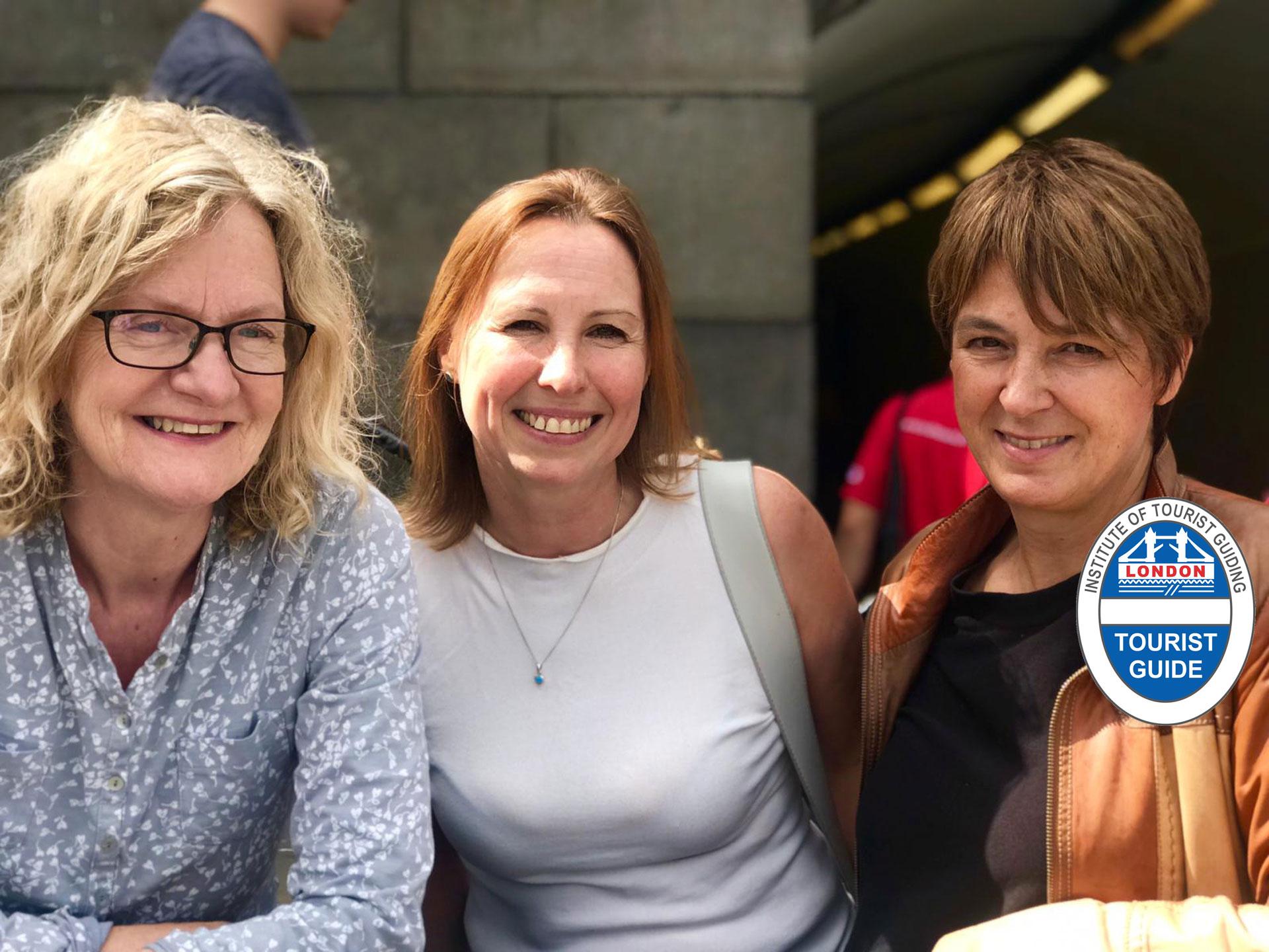 Jill Cook, Jackie Clare & Ildi Pelikan - take Me to London